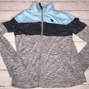 Girls 13/14 Abercrombie full zip sweater
